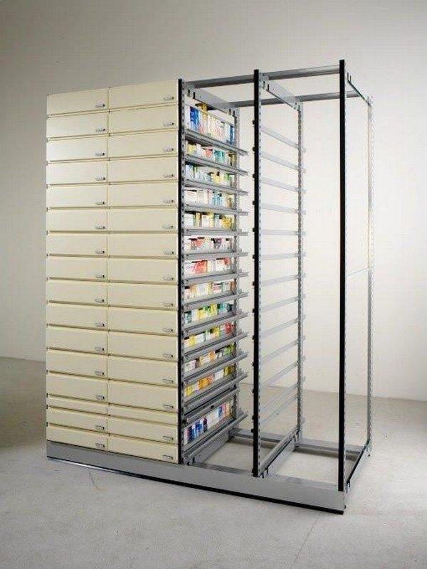 Cassettiere per farmacie