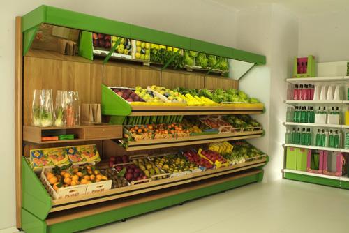 Arredamento negozi di frutta e verdura arredo negozi for Arredamento ortofrutta