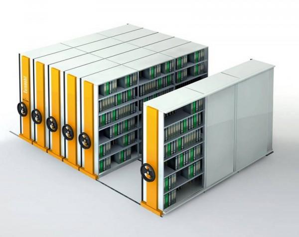 Sistema archiviazione compattabile euromobil